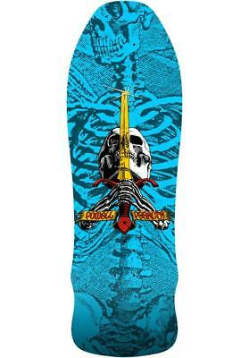 Powell Peralta Geeqah Limited Edition Skull And Sword 9.75 Reissue Skateboard