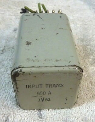 Western Electric input transformer 650A, 1950s Tube US WE