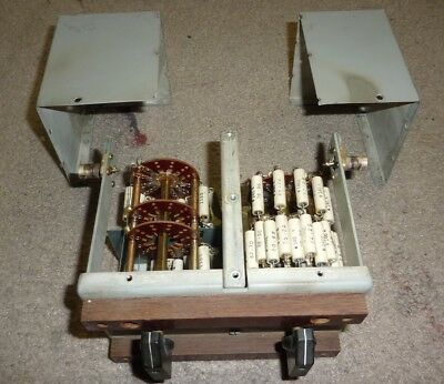 Western Electric dual rotary attenuator 7A - 1950s Tube, ladder resistors. Parts