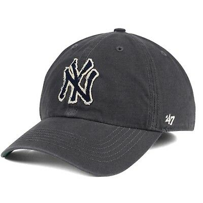 39fd9d237a3993 NEW YORK YANKEES '47 Brand MLB Franchise Vintage Relaxed XL Fitted Cap Hat  - $26.99 | PicClick