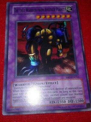 Yu-Gi-Oh TCG CCG The Last Warrior from Another Planet DB2-EN012 Super Rare EX