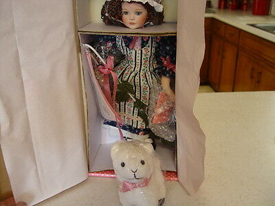 """Paradise Galleries Doll  """"MARY"""" Musical Mary Had A Little Lamb  (New In Box)"""