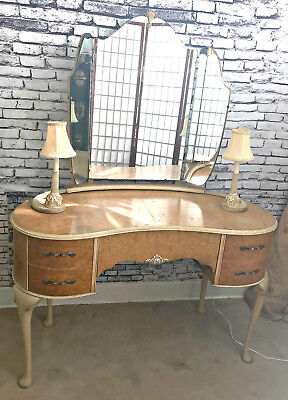 Vintage French Provencial Vanity by Wrighton Furniture