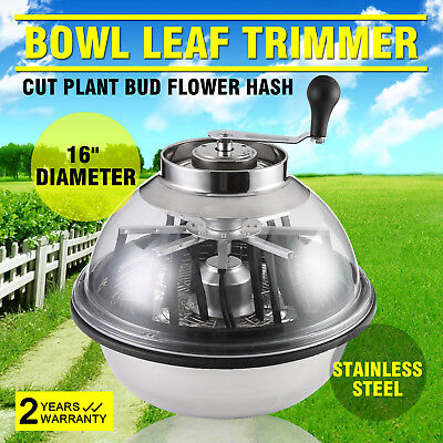 Trimpro Erntemaschine Grow Leaf Tumble Trimmer Trimboxn Plant Flower Spin Pro
