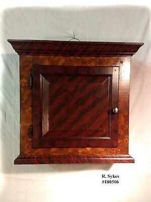 """""""SOLD"""" Custom Builds"""" Primitive Paint Decorated Medicine Cabinet by R. Sykes"""