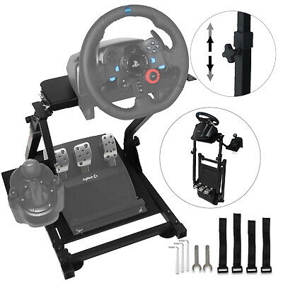 Racing Simulator Steering Wheel Stand for G27 G29 G920 T300RS