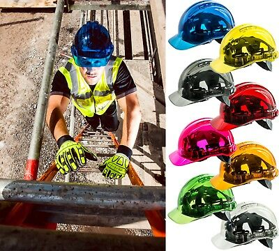 Portwest - Site Safety Workwear Peak View Hard Hat Vented Builder Plumber site