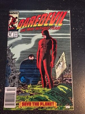 Daredevil#251 Incredible Condition 9.4(1988) Bullet,Kingpin,Romita.jr Art!!