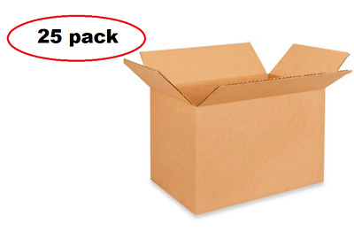 25 Shipping Boxes - 12 x 8 x 8