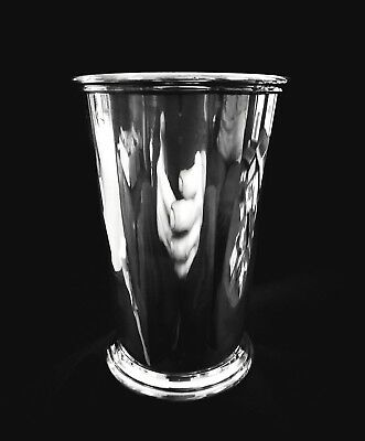 Vintage Sterling Silver Tall Mint Julep Cup - Poor condition