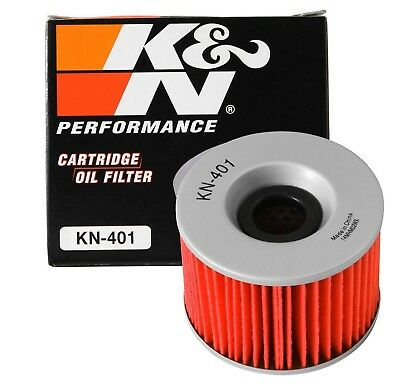 K&N KN-401 Motorcycle/Powersports High Performance Oil Filter