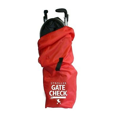 J. L. Childress Gate Check Air Travel Bag for Umbrella Strollers, Red