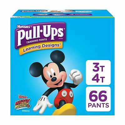 Pull-Ups Learning Designs Training Pants for Boys, 3T-4T (32-40 lb.), 66 Count