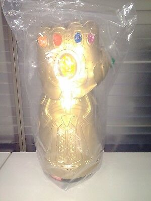 AVENGERS Infinity War 1 GAUNTLET THANOS PROMO BUCKET Last Pieces CINEMEX MEXICAN