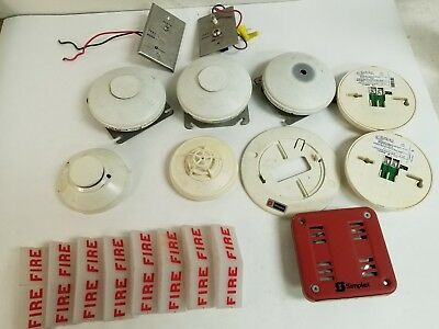 Simplex Fire Alarm LOT ~ 2901-9838, 135, 2088. Detectors, Covers, Plates, ETC!