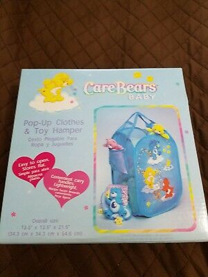 care bears pop up clothes & toy hamper