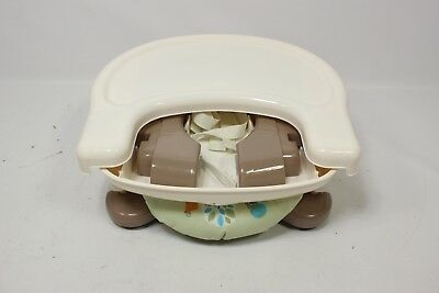 Summer Infant Deluxe Comfort Folding Booster Seat, Tan - Preowned