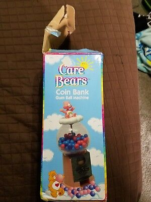Care Bears Coin Bank Gum Ball Machine