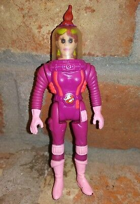 "Real Ghostbusters Janine Melnitz vtg 5.5"" Action Figure Kenner 1989 movie comic"