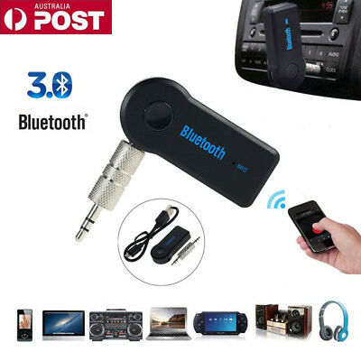 3.5mm to Wireless Bluetooth AUX Car Audio Stereo Music Home Car Receiver Adapter