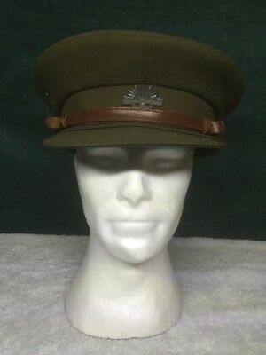 Australian Army Officers Cap with Rising Sun Badge