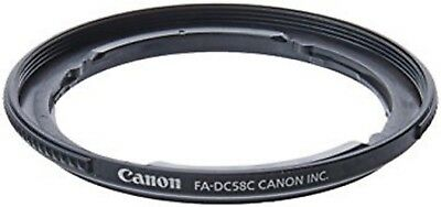 100% NEW & GENUINE CANON FILTER ADAPTER FA-DC58C for PowerShot G1X
