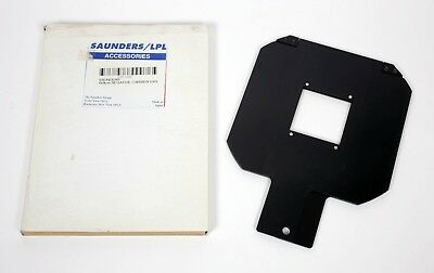 Saunders LPL 4550XL 4500 4X5 enlarger 6X6 negative carrier 245-666