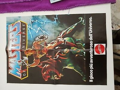Poster Masters Of The Universe Vintage