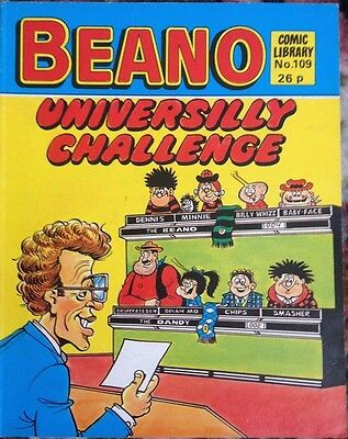 Beano Comic Library 109 Universilly Challenge