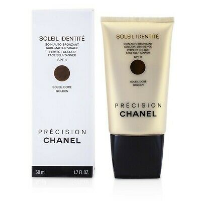 Chanel Soleil Identite Perfect Colour Face Self Tanner SPF8 - Dore (Golden) 50ml