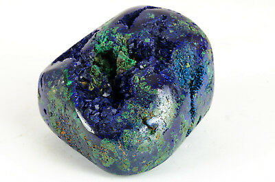 Azurite Malachite Polie Origine Chine 478G Polish Azurite Malachite Origin China