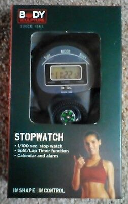 Body Sculpture stop watch with compass NEW