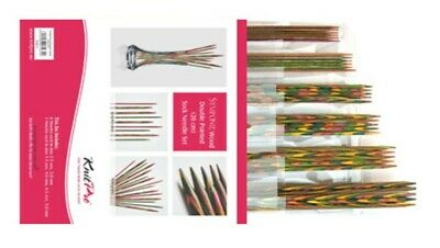 "AUD KnitPro Symfonie Wood Needle Set DPN  20cm/8"" 20631 knitting"