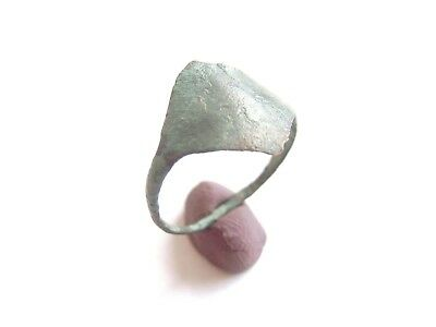 Scarce IRON AGE Hallstatt Culture ANCIENT Celtic Bronze Lady's Finger Ring 700BC