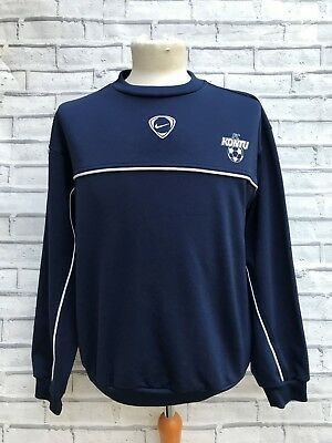 NIKE VINTAGE FOOTBALL Sports Sweater Sweatshirt Navy Blue
