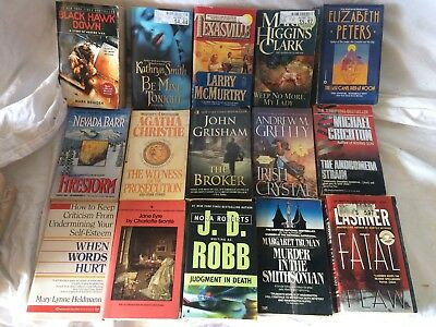 100+ used Paperback books Lot #5