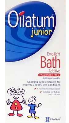 Oilatum Junior bath additive 300ml,treats babies/childs eczema dry skin