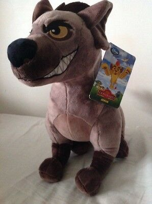 Disney Store THE LION GUARD JANJA Hyena Plush New with Tags Lion King