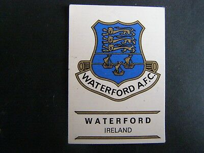 Stickers 140 - WATERFORD Ireland - FOOTBALL CLUBS