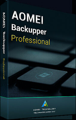 AOMEI Backupper Pro Latest Version - Authorized Reseller - Download