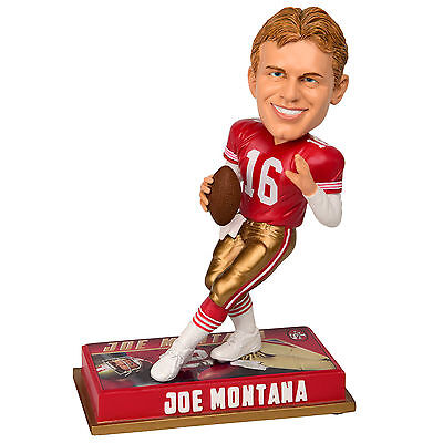 Joe Montana Wackelkopf Figur / Bobble Head Figure - San Francisco 49ers - NFL