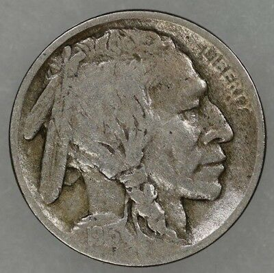 1913-D Type 1 Buffalo Nickel VF Circulated Details
