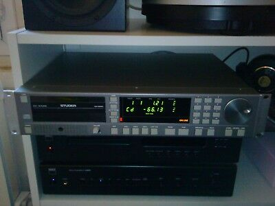 Studer D731 Broadcast Cd Player Unit