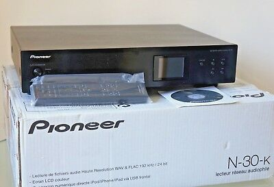 PIONEER N30  Network Digital Audio Player, Web Tuner and DAC with Valve Output