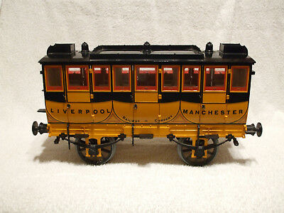 "Hornby 3½"" Stevensons  Rocket Coach G104 (Damaged)"