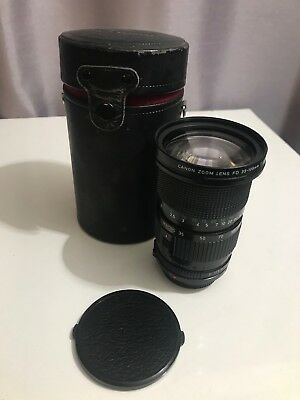 Vintage Canon Zoom Lens Fd 35-105Mm 1:3.5 Good Condition