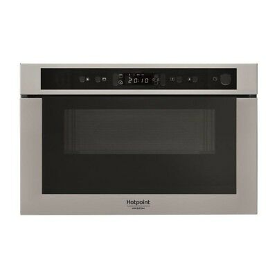 WHIRLPOOL MH 400 IX - Micro-ondes combiné encastrable inox anti-trace - 22L - 7