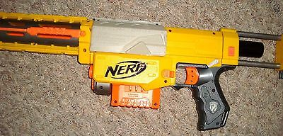Nerf Dart Gun RIFLE Blaster N Strike Recon CS 6 Clips darts