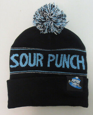 South Park Sour Punch Beanie Skully Adult Toboggan Hat Cap One Size New Black