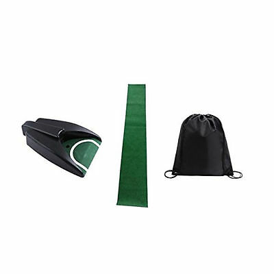 Training Cup Golf Auto Returning Putting Cup Bundle Set mit Cup, Mat, Cinch Sack